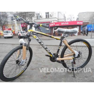Велосипед TITAN Scorpion 26″ NEW 2018 (чёрно-желтый)