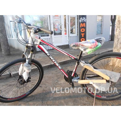 Велосипед CrossBike Racer 26″ (чёрно-красный)