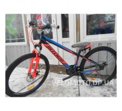 Велосипед Intenzo Master 26 (черно-синий)