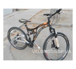 Велосипед Crossride 26 MTB Explorer (механика) черно-оранжевый