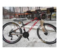 Велосипед TITAN Forest 26″ NEW 2018 (черно-красный)