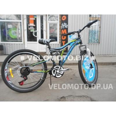 Велосипед Discovery Rocket AM2 24 2018 (черно-синий)