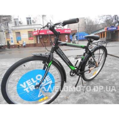 Велосипед Discovery Prestige Man 26 2016 черно-серо-зеленый