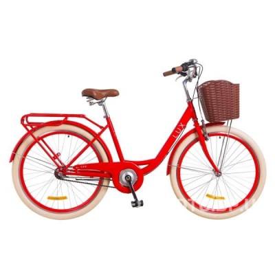 """Велосипед 26"""" DOROZHNIK LUX PH С КОРЗИНОЙ 2018 (LUX BSK)"""