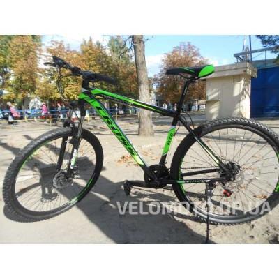 Велосипед CrossBike Hunter 29″ (зеленый)