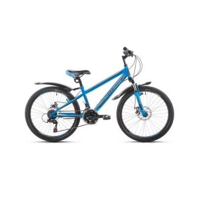 Велосипед  Intenzo Forsage Disk 24 черно-синий