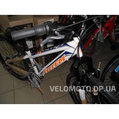 Велосипед TOTEM 24 CT MTB SHARK (бело-оранжевый)