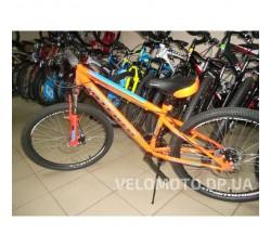 Велосипед Intenzo Forsage Disk 24 (оранжево-голубой)