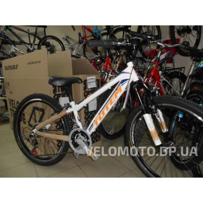 Велосипед TOTEM 24 CT MTB SHARK DISK (бело-оранжевый)