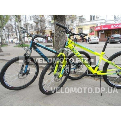 Велосипед  Intenzo Forsage Disk 24 салатово-серый