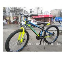 """Велосипед Avanti Rider Disk 24"""" 2019 (черно зелено-голубой)"""