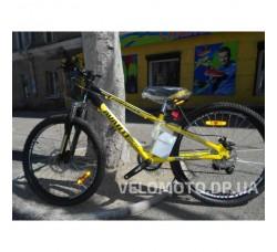 "Велосипед Avanti Rider Disk 24"" 2019 (черно-желтый)"