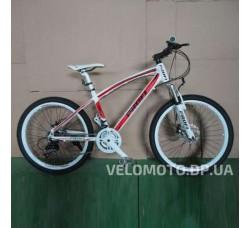 Велосипед Profi 24 Expert красно-белый