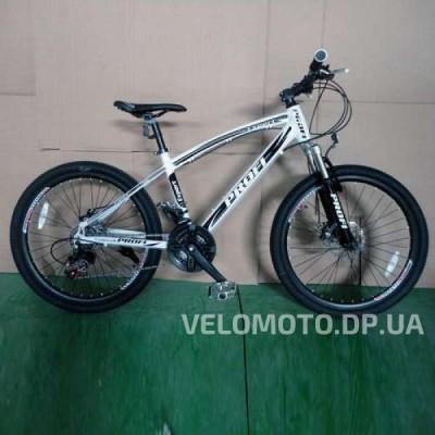 Велосипед Profi 24 Expert черно-белый