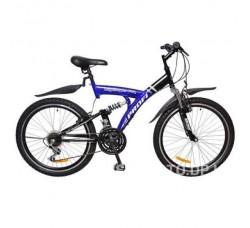 Велосипед Profi 24  M2415 сине-черный