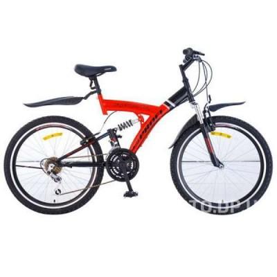 Велосипед Profi 24  M2415 красно-черный