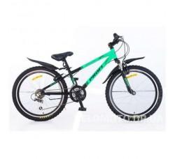 Велосипед Profi 24 Mode XM242 салатово-черный