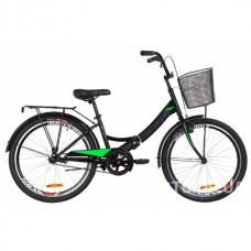 """Велосипед детский Formula Smart 24"""" с корзиной 2019"""