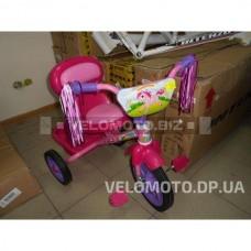 Детский трёхколёсный  велосипед M 1659 розовый
