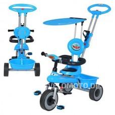 Детский трёхколёсный  велосипед   M 5366-1 глубой