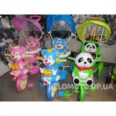 Детские трехколесные велосипед Малятко (розовый)