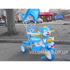 Детские трехколесные велосипед Малятко (голубой)