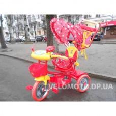 Детские трехколесный велосипед Bambi А 24-9 (красный)