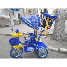 Детские трехколесный велосипед Bambi А 24-9 (синий)
