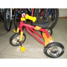 Детский трехколесный велосипед  M 0688-3 (желто-красный)