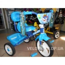 Детский трёхколёсный  велосипед M 1659 синий