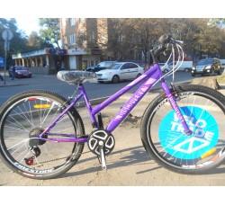 Велосипед Discovery Passion 26 2019 (фиолетово-розовый)
