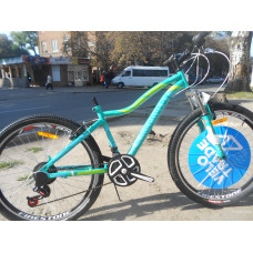 Велосипед Discovery KELLY 26 2019 (зелёный)