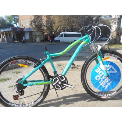 Велосипед Discovery KELLY 26 2018 (бело-черный с малиновым)