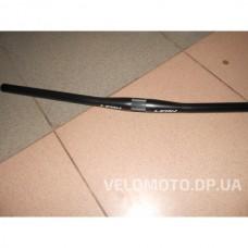 Руль LEON прямой, алюминиевый, длина: 690мм, д.: 31,8мм