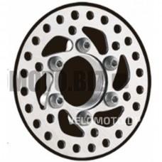Диск тормозной (Ø100mm, на 6 болтов)