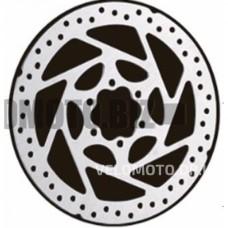 Диск тормозной (Ø160mm, на 6 болтов)