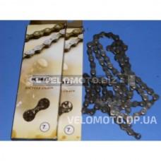 Ланцюг 1/2х3/32х116L KMC Z51 7 шв.