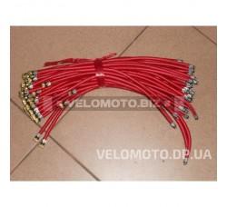 Велошланг  длина-370mm d-5mm (красный)