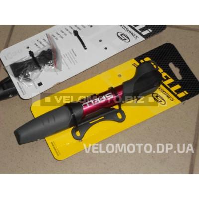 Велонасос Spelli SPM-196A RED (T-ручка)