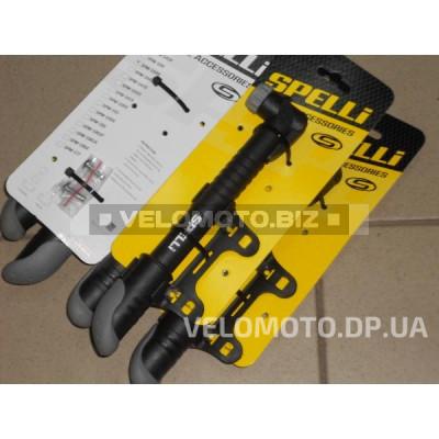 Велонасос Spelli (PL) SPM-104K  резиновая ручка