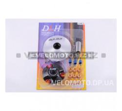 Вариатор передний (тюнинг) Yamaha BWS 100 (ролики латунь 9шт, палец, пружины сцепления) DLH