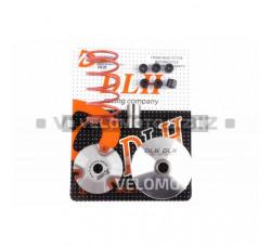 Вариатор передний (тюнинг) Yamaha JOG 90 (+палец, ролики 6шт, пружина торкдрайвера) DLH