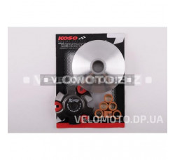 Вариатор передний (тюнинг) 4T Stels 150 (медно-граф. втулка, ролики латунь) KOSO