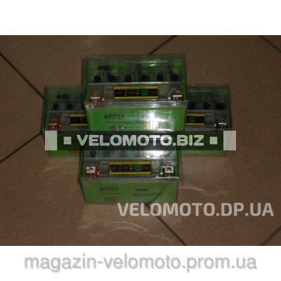 Аккумулятор MSU YTX9A-BS(iGEL) 12V9Ah/10HR