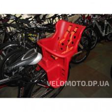 Сиденье для детей пластиковое Ковш (на багажник) красное