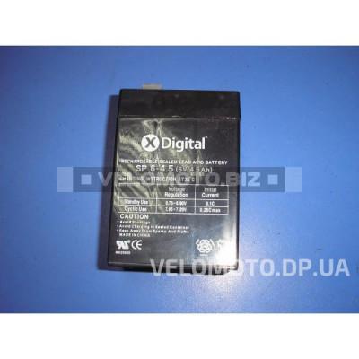 Аккумулятор 6V 4,5Ah