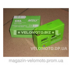 Аккумулятор MSU YTR4A-BS(GEL) Yamaha/Suzuki 12V2.3Ah/10HR