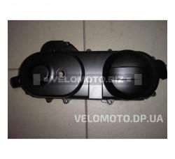 Крышка вариатора 4T GY6-50 короткая (40mm) черная