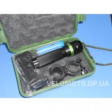 Фонарь линза AR-8500 10000W + зарядное устройство