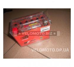 АКБ 12V 9А гелевый (152x88x106, оранжевый, mod:YTX9-BS) OUTDO